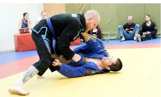 Tõll ning Yamato Yoshida klubist GB Gym Helsinki  Foto: Mardo Männimägi