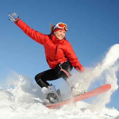 Lumelauaspordiga alustades on mõistlik esmalt varustus rentida Foto: Shutterstock