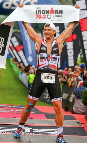 Tanel Padar võttis vastu väljakutse läbida Otepää triatlon. Plaanipäraste treeningute tulemusel võis ta 6. augustil saavutatuga rahule jääda. Foto Krista Mikk