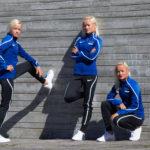 Kolm blondi kaunitari ja meedia