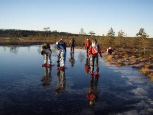 Läbi jää paistab mõnikord justkui teine maailm Foto: Seiklusfirma 360 kraadi