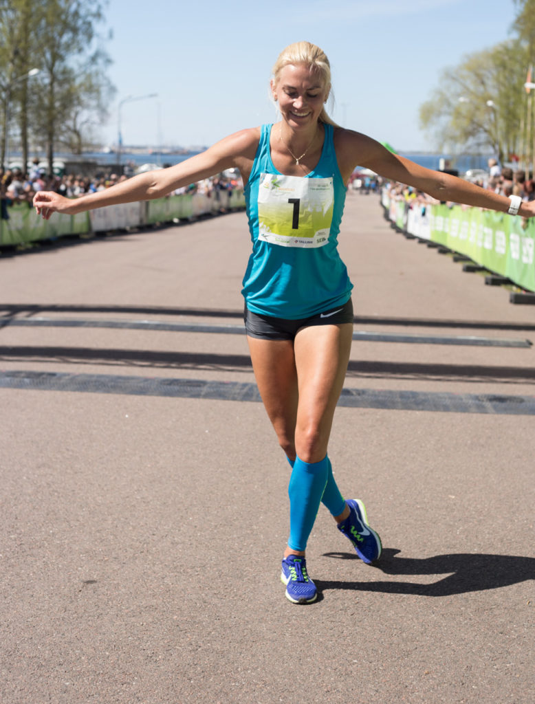 SEB Maijooks 2017 võitja Liina Tšernov