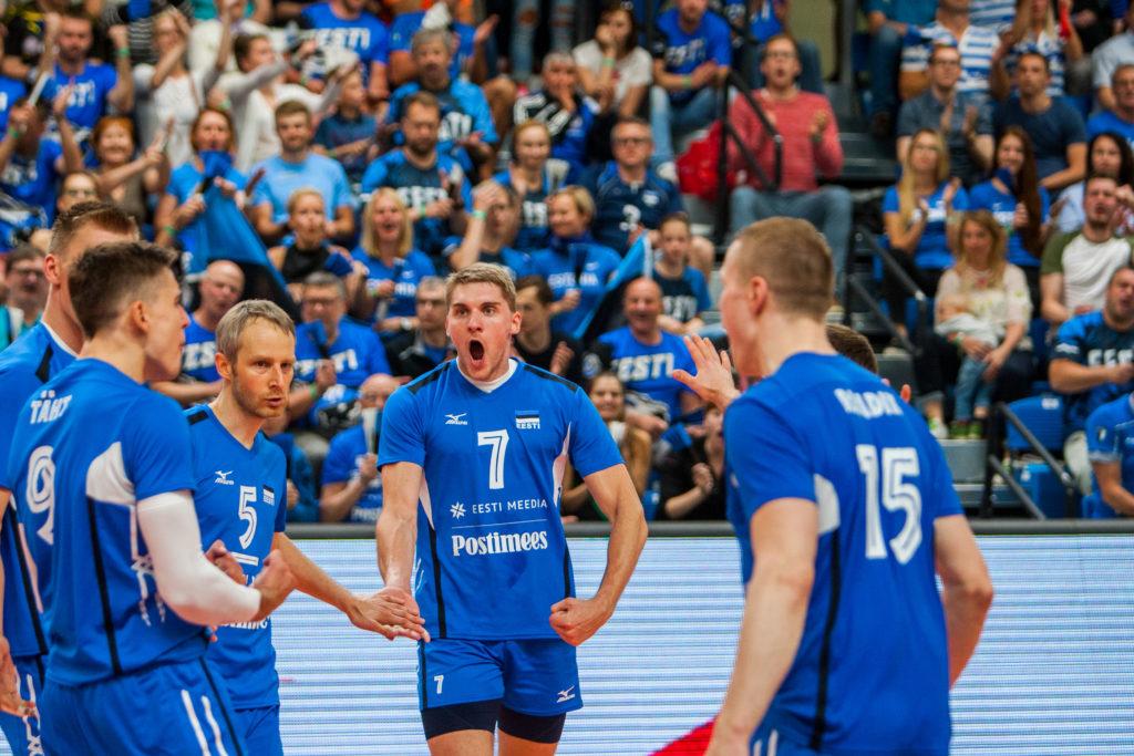 Eesti koondis mängis Tallinnas kõrgel tasemel, jäädes alla vaid Venemaale.