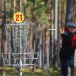 Sportlik puhkus disc golf'iga