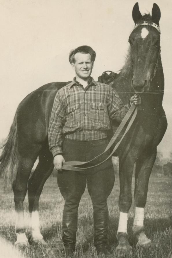 Fred Kudu Tartus 1950. aastal.