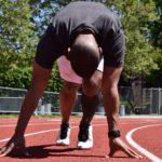 Murtud jalaluu ei peata sprinterit olümpiamedali eest jooksmast