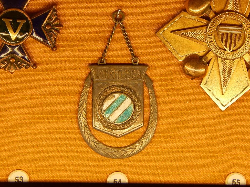 Tallinna VS Spordi korraldatud maratonijooksu autasumedal 1914. aastast