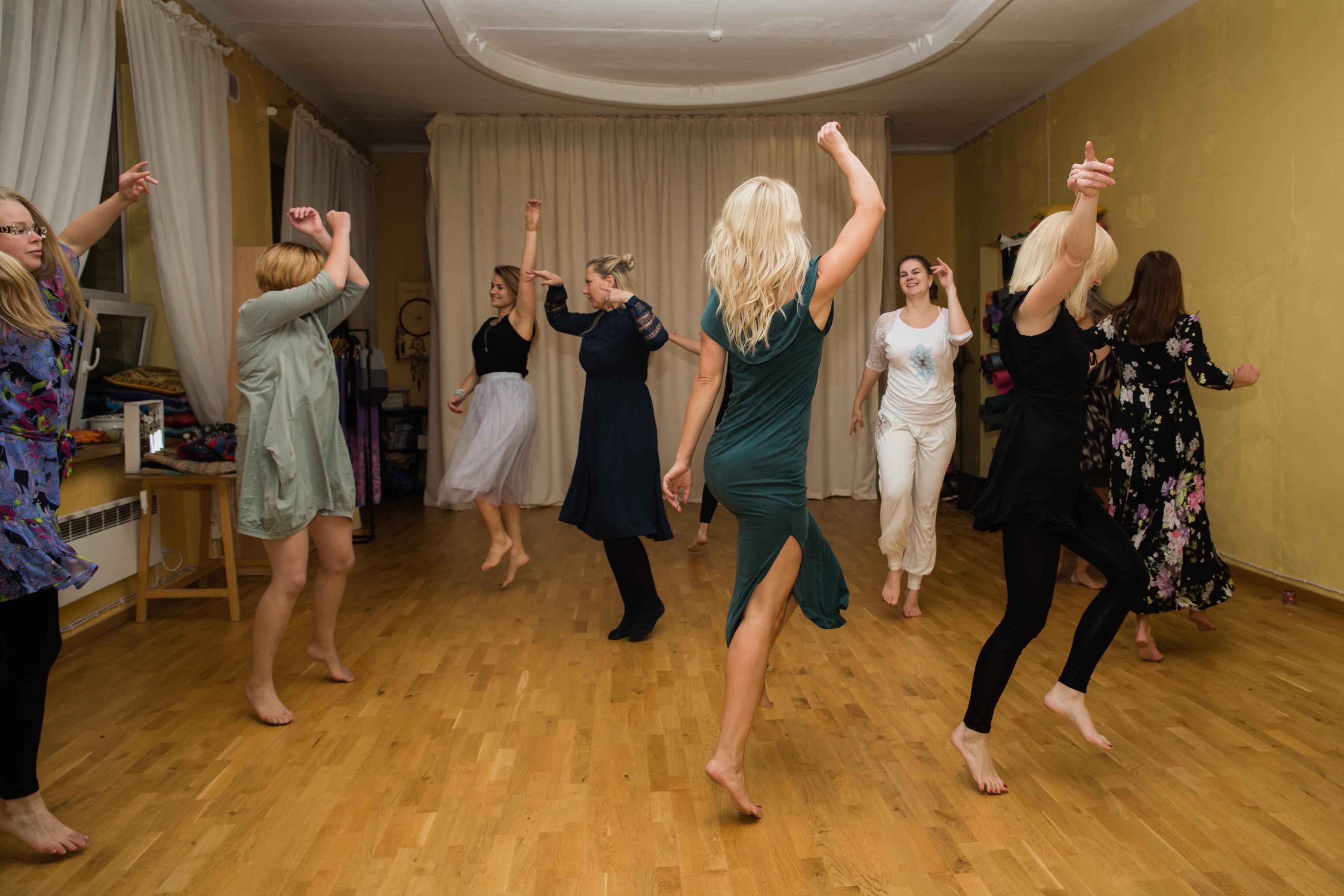 Viie Rütmi tants