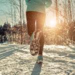 Külma ilmaga sportimas