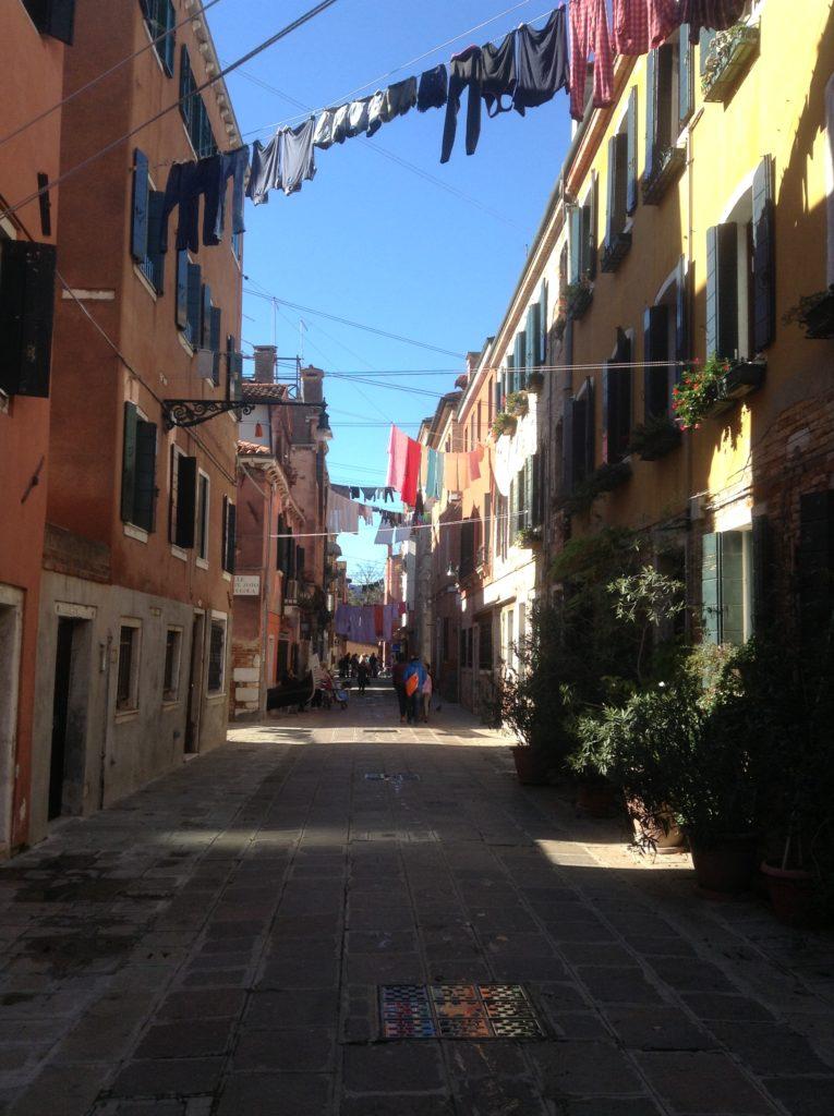 Nii kuivab Veneetsias pesu