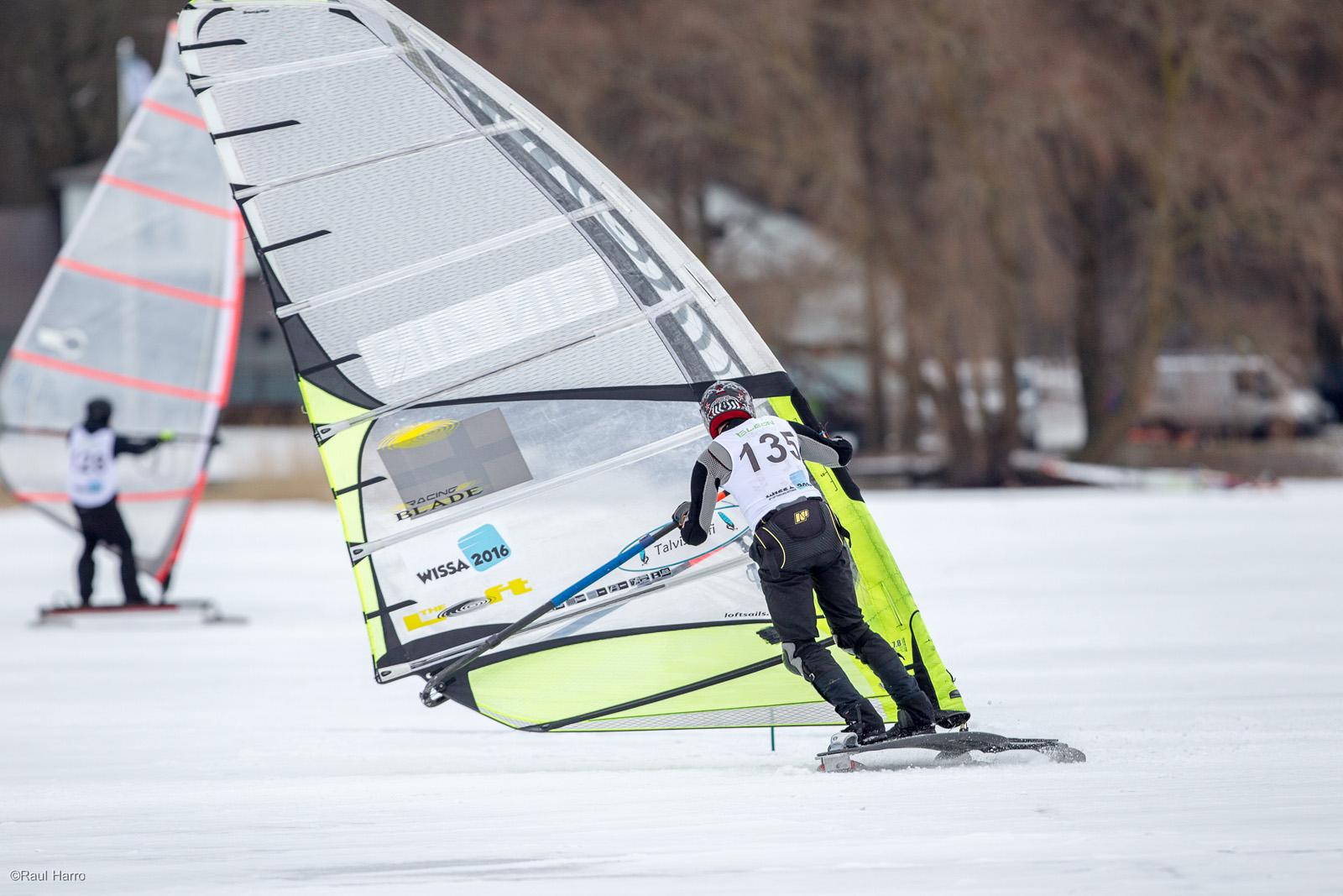 Slaalomit sõidab Feodor Gurvits. Foto autor Raul Harro