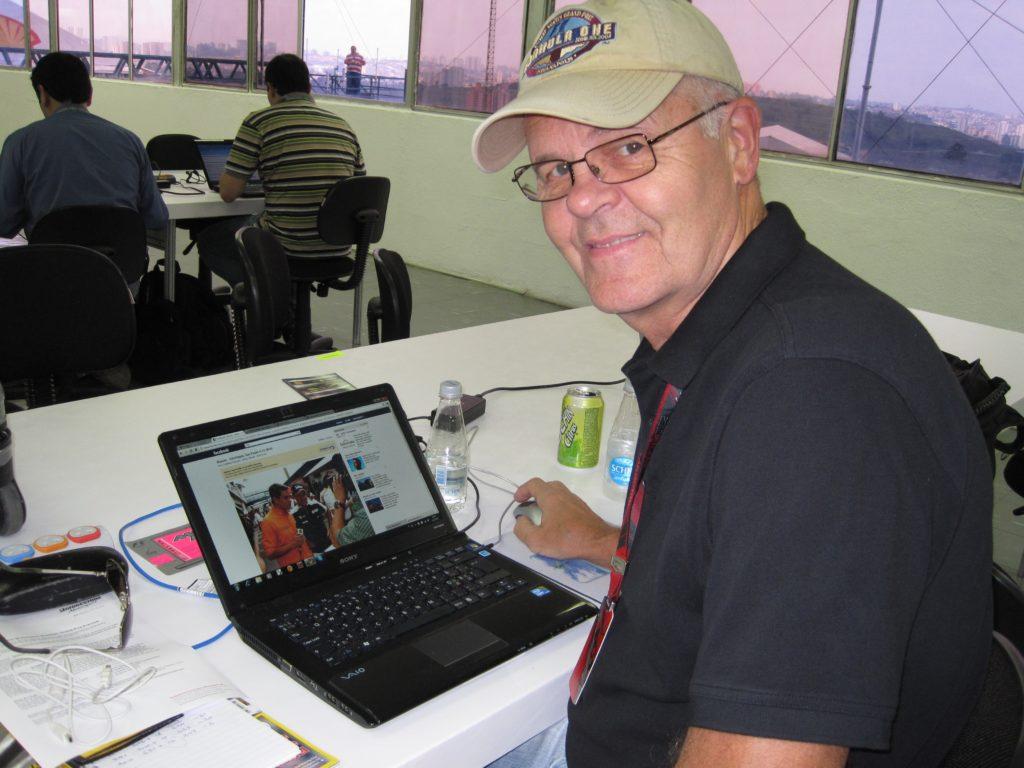 Erkki Mustakari Brasiilias 2010