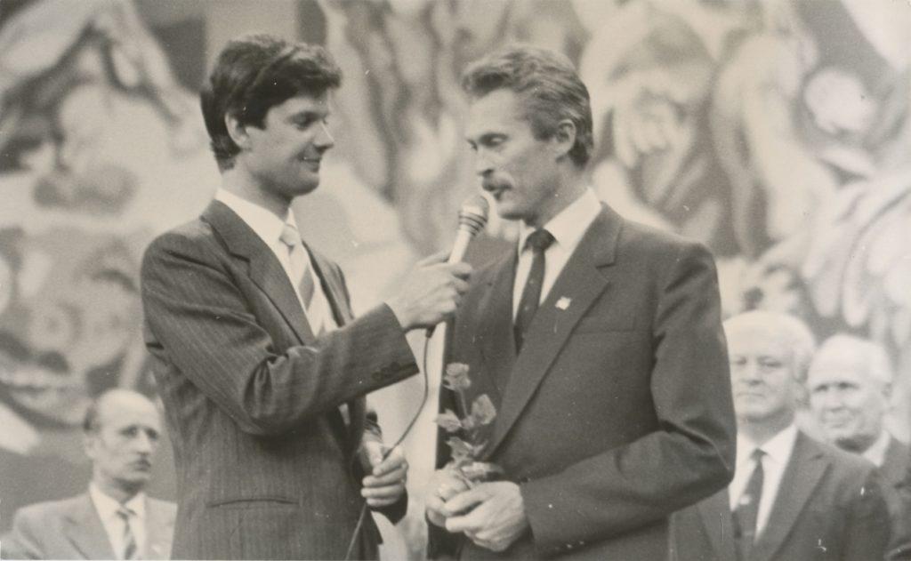 Intervjueerimas Priit Tomsonit 1988