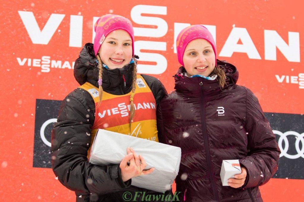 Annemarii (vasakul) ja Triinu Hausenberg Foto Flawia Krawczyk