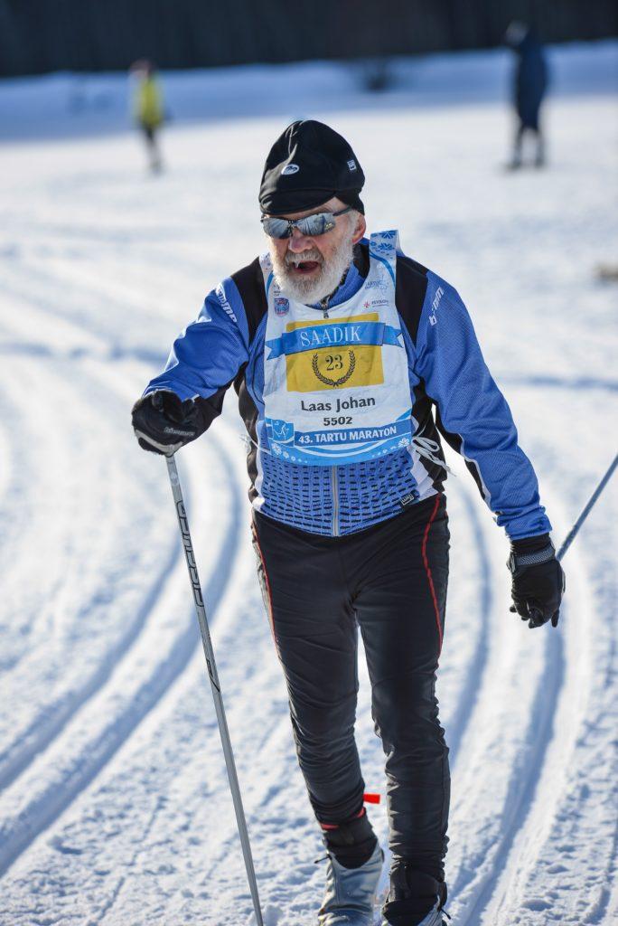 Johan Laas on üks nendest, kes on ära teeninud maratoni saadiku tiitli.