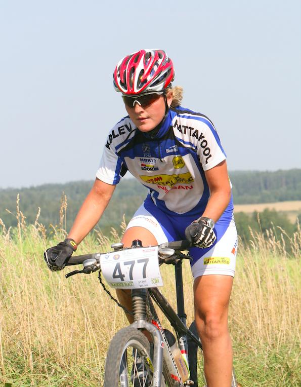 Kolm päeva enne saatuslikku õnnetust sõitis Gerda Rakke rattamaratonil. Foto Janne Salumäe / Sportfoto.com