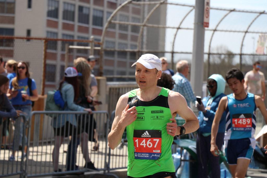 Bostoni maraton 2016 viimased kilomeetrid
