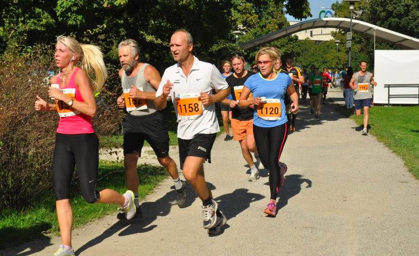 2014. SEB Tallinna maratoni 10 km distantsil