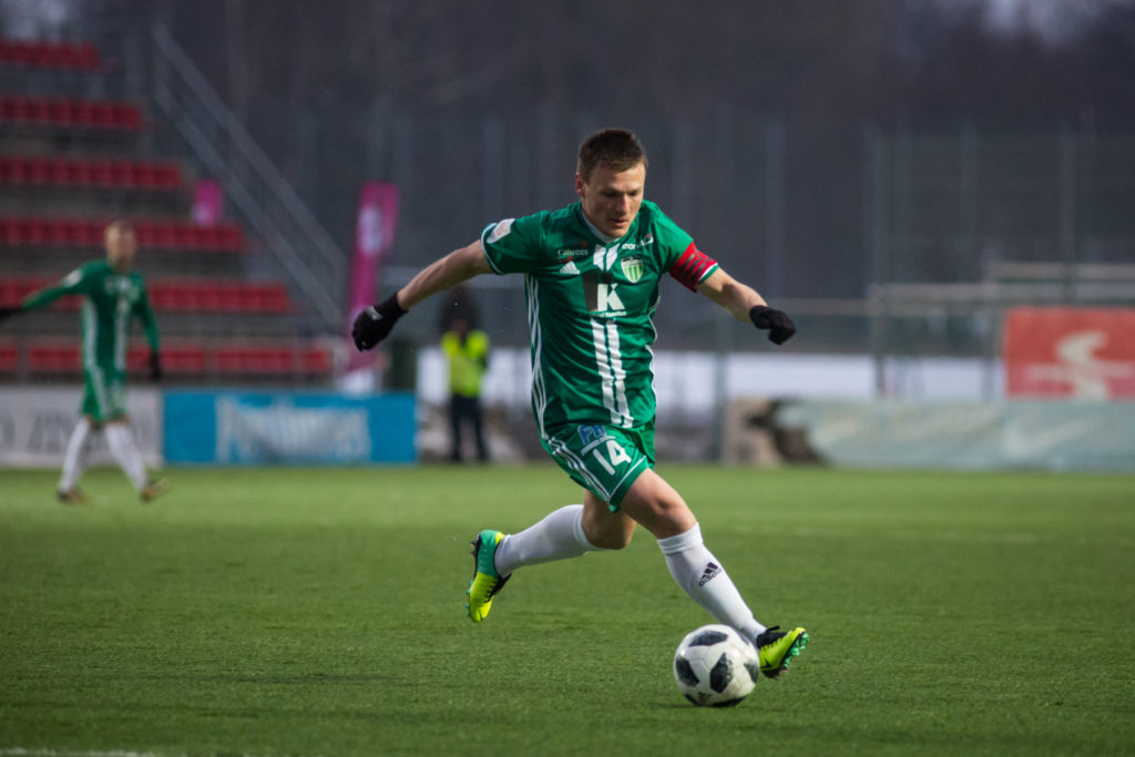 FCI Levadia kapten Dmitri Kruglov Foto FCI Levadia