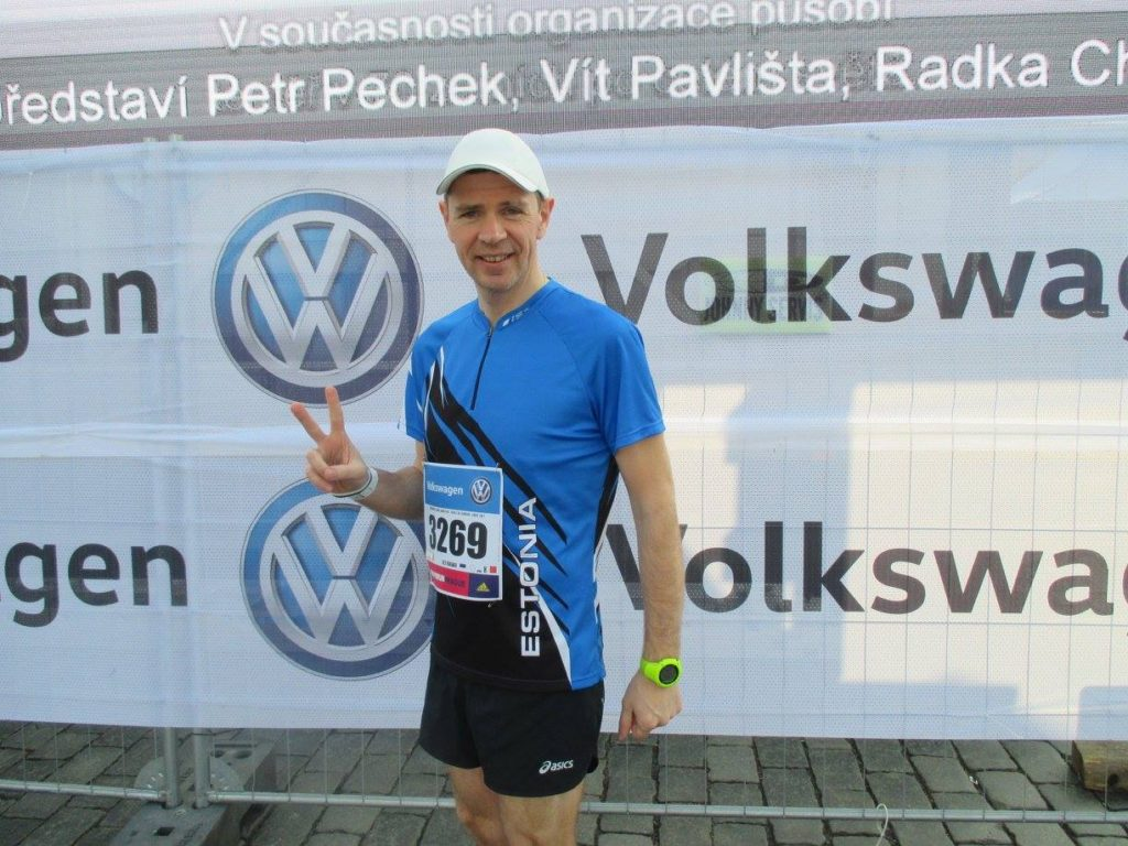 Enne Praha maratoni starti