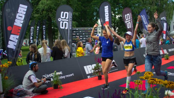 Võistkonnaga triatlonile