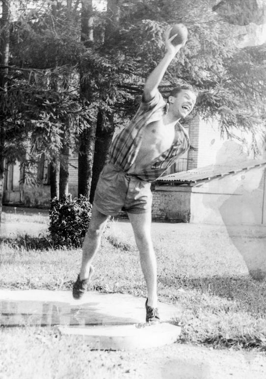 Noorena oli Allar Jõks kõva spordipoiss.