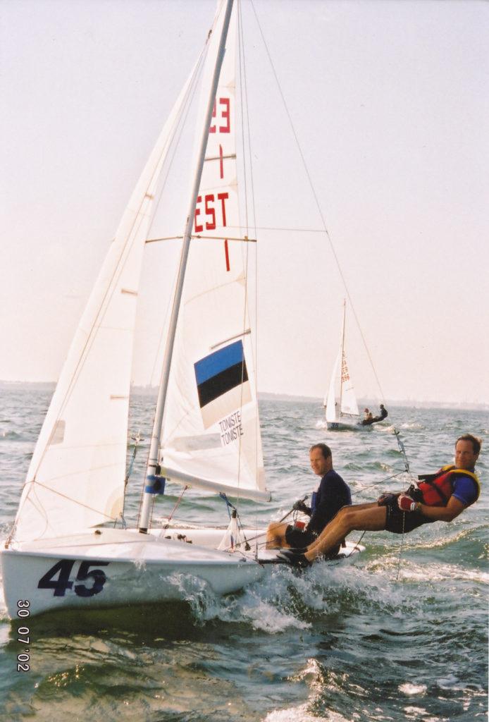 Vennaga 470 klassis olümpial Eesti lipu all
