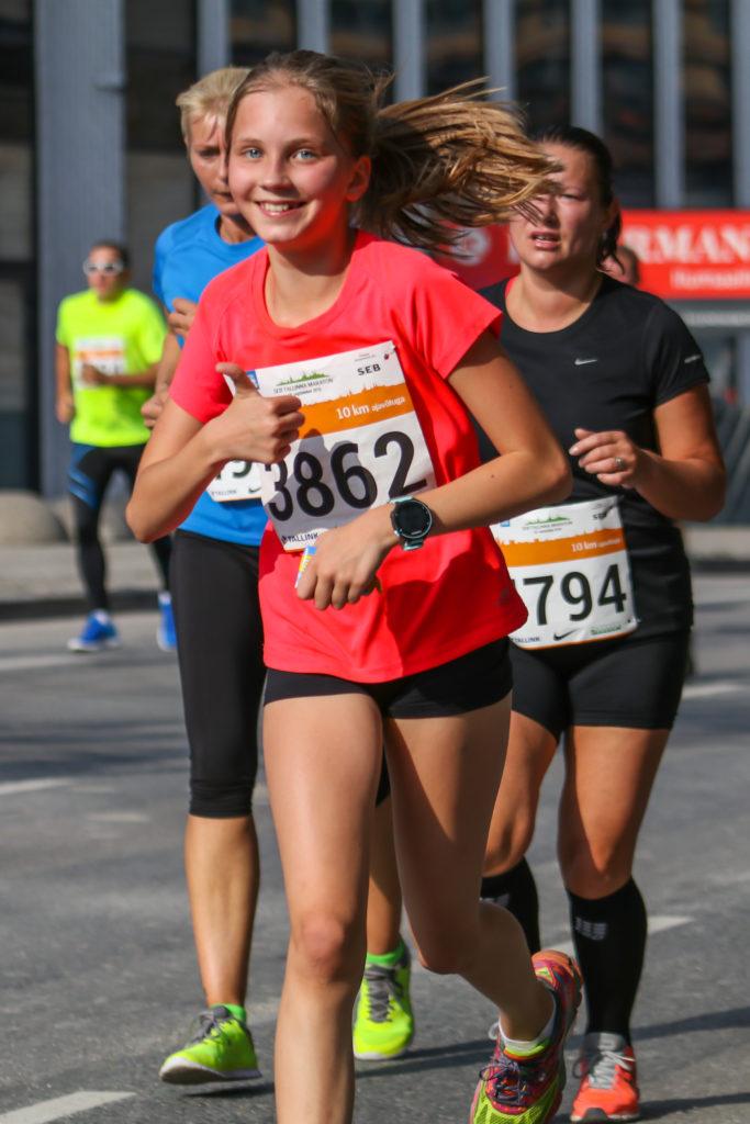 Jooksmine teeb rõõmsaks ja sobib peaaegu kõigile Foto Risto Võsaste / Sportfoto.com