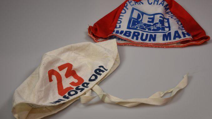 Rahvusvahelistel triatlonivõistlustel kasutusel olnud ujumismütsid