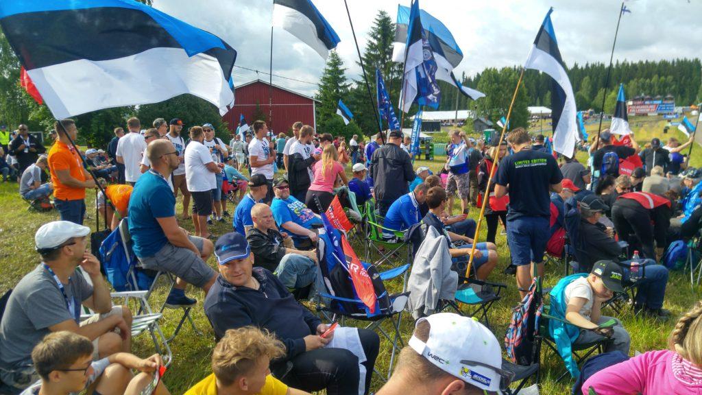 2017. aastal Soome rallil Foto: Arno Õruste