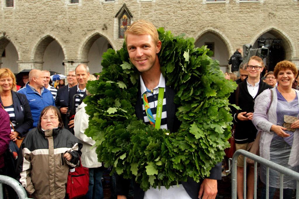Eesti olümpiakoondislaste vastuvõtt