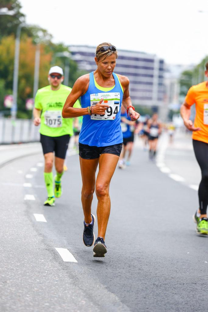 Jane Salumäe jooksis möödunud aastal Tallinnas poolmaratoni