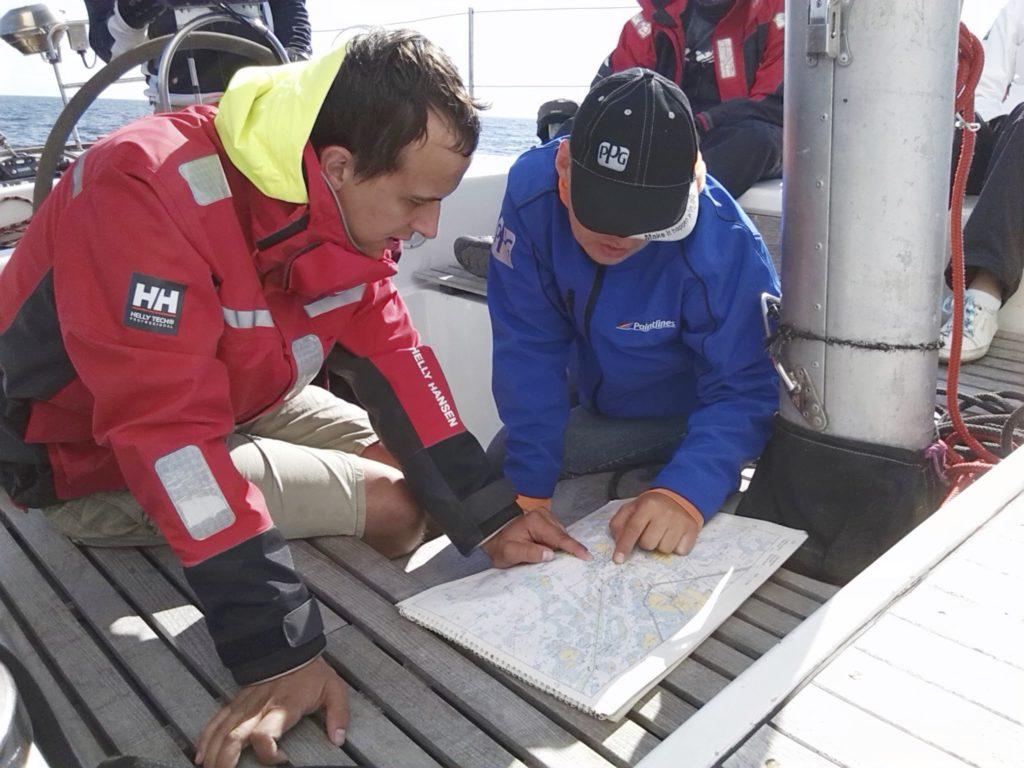 Navigatsioonikursusel  Foto: Laur Lumet