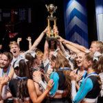 Pühendunud töö tulemus = EM tiitel cheerleading'us