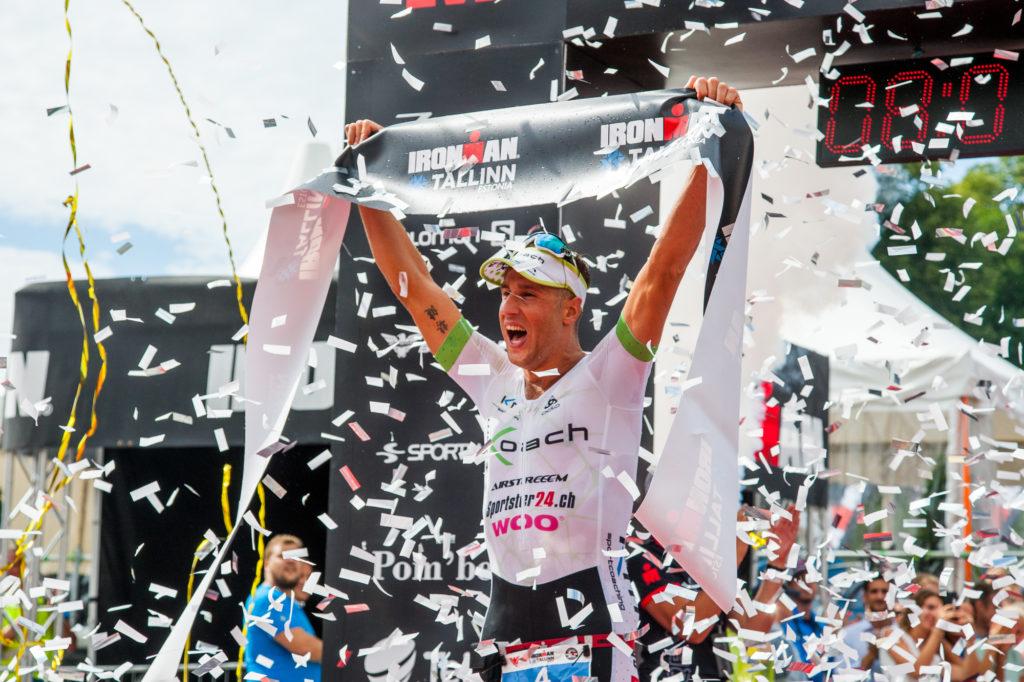 IRONMAN Tallinn triatloni võitja Philipp Koutny