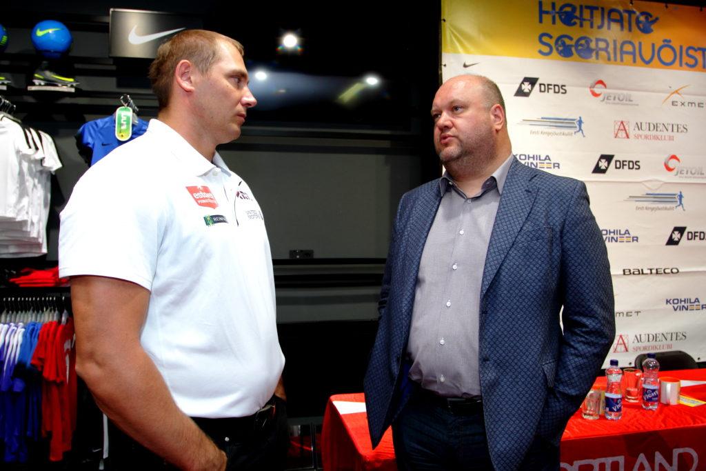 Gerd Kanter ja Erich Teigamägi