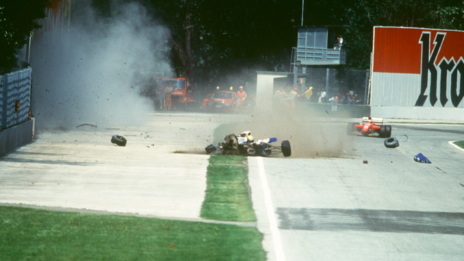 Ayrton Senna saatuslik õnnetus Foto Vida Press