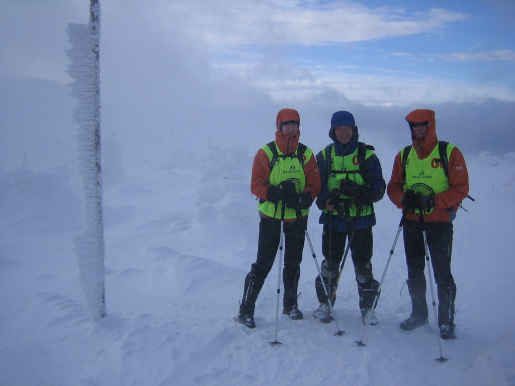 Winter Bergson Challenge 5 ööpäeva Foto erakogu