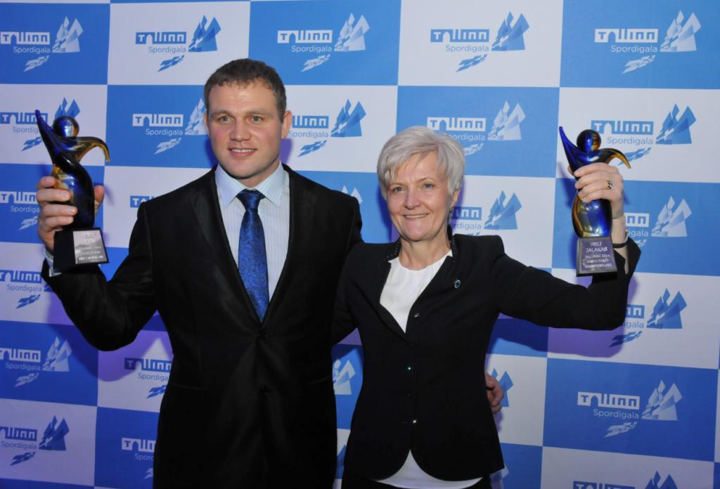 Tallinna parim mees- ja naissportlane – Heiki Nabi ja Heli Jalakas, aastal 2014