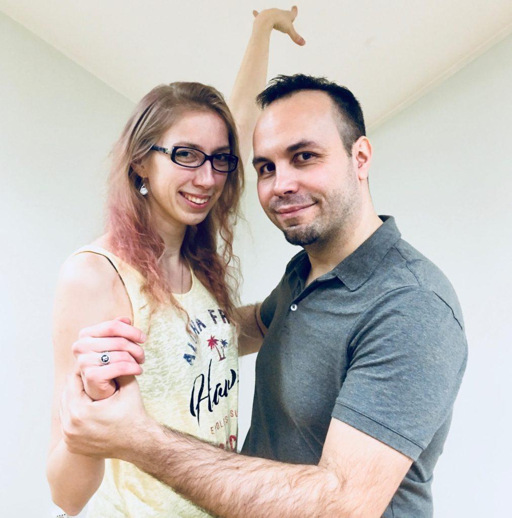 Marino Bresciani koos tantsupartneriga