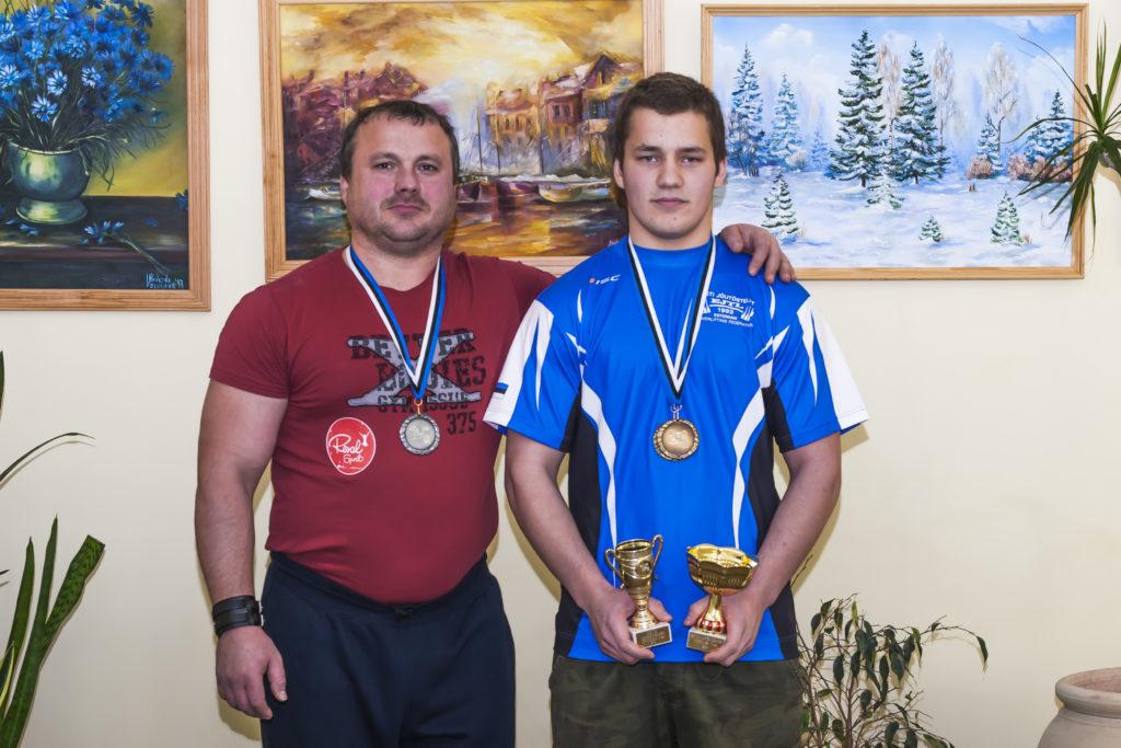 Andres ja Andri Eric Külaviir (Foto Henry Küla)