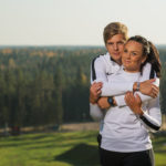 Eesti discgolfi esipaar Kristin Tattar ja Silver Lätt