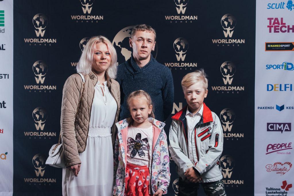 Elari Markus ja Amy vanematega WMG2019