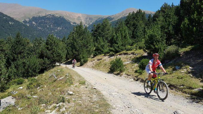 Meelis rattaretkel Andorra-Hispaania piiril