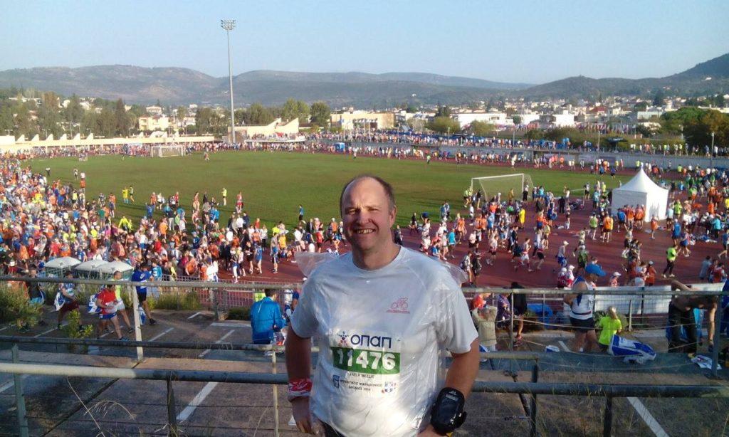 Meelis Ateena maratonil