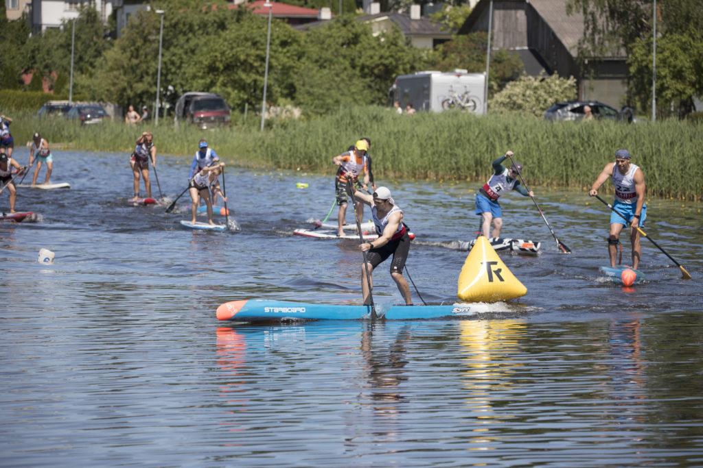Tehniline võidusõit Paala järvel Foto: Aili Soa