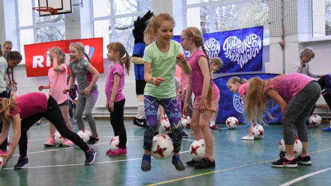 Tüdrukute jalgpallifestival