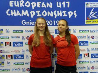 Catlyn Kruus ja Ramona Üprus veerandfinaali järel