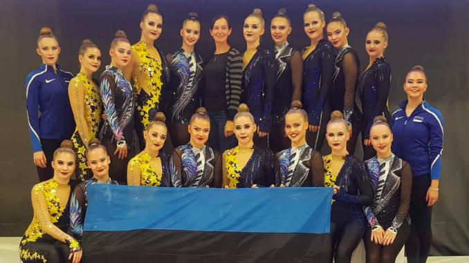 VK Rütmika Elite Team ja VK Janika Grisete tähistavad Budapestis pika hooaja lõppu