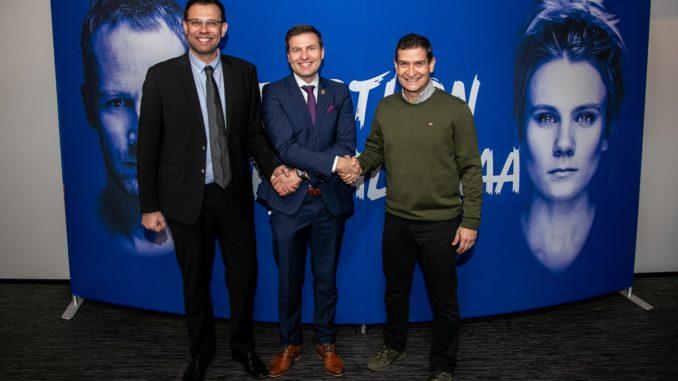 Cédric Énard, Hanno Pevkur ja Lorenzo Micelli